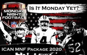2020 NFL Monday Night Football